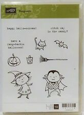 Stampin Up FANG-TASTIC Stamps Halloween witch vampire cat pumpkin bat