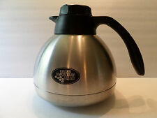 Green Mountain Coffee Roasters Thermos Stainless Steel Carafe Rare HTF