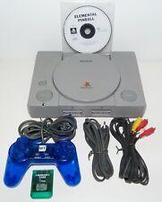 Lot console PSX PlayStation 1 SCPH-1002 + cables carte manette + jeu de flipper