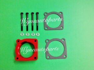 Fit 02-06 Nissan Altima Sentra  SE-R SPEC V Vortex Flow Throttle Body Spacer RED