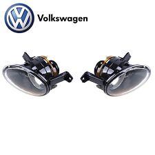 Volkswagen Jetta Eos GTI Golf 2010-2014 Left & Right Fog Lights Genuine VW