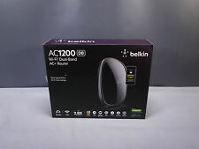 Belkin AC1200 DB Wi-Fi Wireless Dual Band AC+ Router F9K1123V1 Broadband Modem
