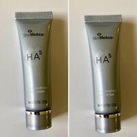 2 PACK SkinMedica HA5 Rejuvenating Hydrator Deluxe Travel Size - 0.13 oz / 3.7 g