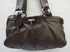 Authentique sac à main   en cuir  MANDARINA DUCK TBEG vintage bag