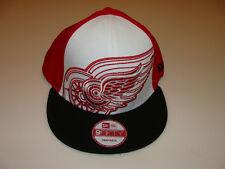 New Era Detroit Red Wings Little Pop Snapback Cap Hat NHL Hockey Adjustable OSFM