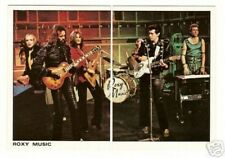 Roxy Music Vintage Panini Pop Rock Sticker Cards #25-26 Bryan Ferry