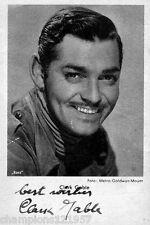 Clark Gable ++Autogramm++ ++Hollywood Legende++2