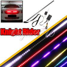 Waterproof 7 Color 56cm 48 LED RGB Flash Car Strobe Knight Rider Light Strip Kit
