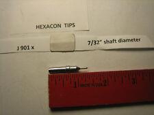 """Hexacon J 901x, soldering tip, 7/32"""" diameter"""