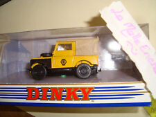 LAND ROVER DY9B 1949 DINKY COLLECTION MATCHBOX 1/43° NEUF EN BOITE ROAD SERVICE