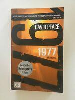 David Peace 1977 Roman Krimi Heyne Verlag Buch