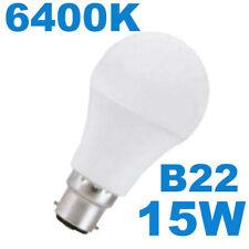 Super Bright 15w LED B22 Bayonet Light Bulb Daylight Cool White 90w EQUIVALENT