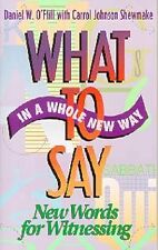 What to say in a whole new way: New words for witn