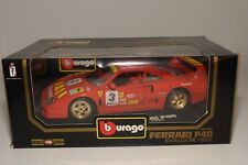 V 1:18 BBURAGO BURAGO 3042 FERRARI F40 1992 EVOLUZIONE BRUMMEL MINT BOXED