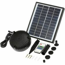Solar Floating Fountain Pump Brushless Submersible Water Pumps Outdoor Tools New