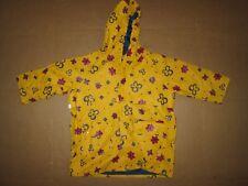 Girls LANDS END waterproof hooded rain coat  jacket 3T