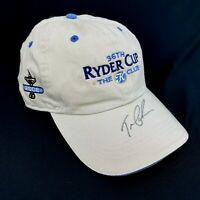 Tom Lehman 36th Ryder Cup Team Captain 2006 Autographed Hat Ireland The K Club