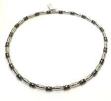 collana CRIVELLI in oro bianco 18 kt con diamanti ct 0,63
