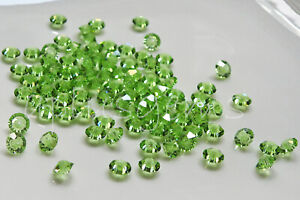 60PCS Authentic 5MM Swarovski Crystal Spacer Beads #5305 pick colors