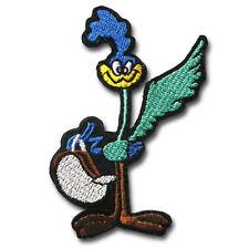 Cartoon Bird Patch Embroidered Iron on Badge Road Runner BSA Rat Rod Plymouth