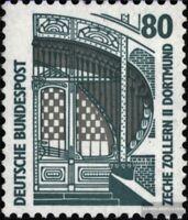 BRD 1342A R II mit Zählnummer postfrisch 1987 Sehenswürdigkeiten