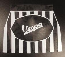 Aleta De Barro Negro a Rayas con Logo Vespa