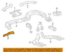 Chevrolet GM OEM 16-18 Impala Dash Heater-Floor Duct Tube Outlet Left 23247582