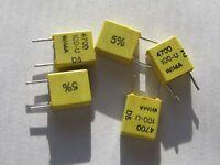 25 Stück - FKC2 4700pF 100V RM5 WIMA 5% Folienkondensator 4,7nF - 25pcs