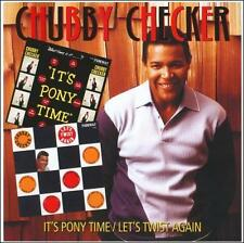 Chubby Checker - It's Pony Time/Let's Twist Again (Jun-2010, Collectors) NEW CD