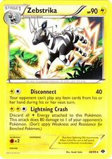 x1 Zebstrika - 48/99 - Rare - Reverse Holo Pokemon Next Destinies M/NM