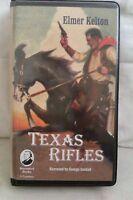 Texas Rifles: Elmer Kelton: Unabridged Cassette Narr George Guidall