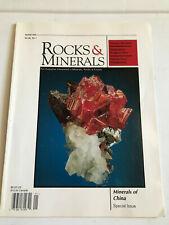 """Mineral book:""""Rocks and minerals magazine"""", Jan/Feb, 2005"""