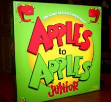 NEW Apples to Apples Junior 9+ The Game of Crazy Comparisons! Great Family Fun!