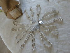 lot de 12 ancien chapelet IMMACULEE CONCEPTION Vierge Miraculeuse 15 grains