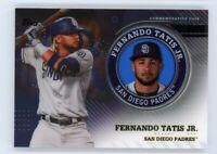 2020 Topps Chrome FERNANDO TATIS JR Rare COMMEMORATIVE COIN CARD #TPM-FT Padres