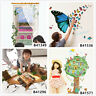 3D Scenery Butterfly Home Bedroom Decor Removable Wall Sticker Decal Decoration