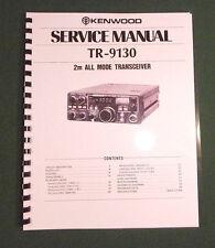 Kenwood TR-9130 Service Manual - Premium Card Stock Covers & 28 lb Paper