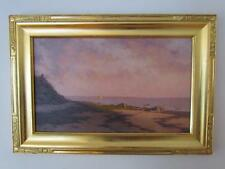 *ABSOLUTELY STUNNING* LUMINIST COASTAL PAINTING by WILLIAM P. DUFFY