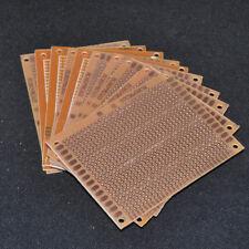 10pcs Veroboard Stripboard 9X7CM 2.54mm PCB Protoboard Prototype Printed Single
