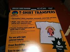 82716  t shirt transfer paper FOTOFINISH IRON ON                               A