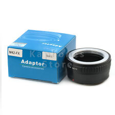 Pixco Camera Adapter For Takumar M42 Mount Lens to Fujifilm FX X-E1 X-Pro1 X-T1