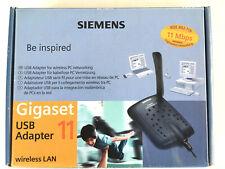 Siemens Gigaset USB 11 WLAN-Adapter Wireless LAN mit Anleitung und CD OVP