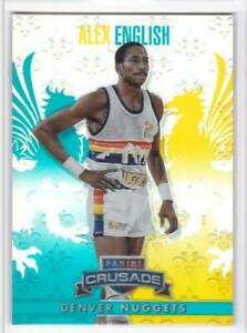2013-14 Alex English #/249 Panini Crusade #4 Denver Nuggets Basketball Card