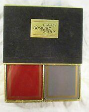 Vintage Congress DESIGNER SERIES Playing Cards 2 Decks  NICE!!!