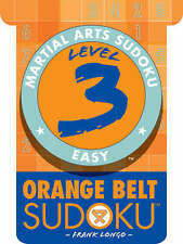 Good, Level 3 Orange Belt Sudoku (Martial Arts Sudoku), Longo, Frank, Book