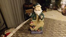"""20#4   Vintage Stand Up Santa Claus figurine   6 """" tall ADORABLE"""
