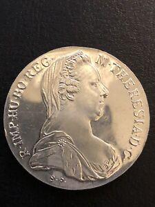 Österreich Maria Theresien Taler Silber stempelglanz