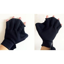 Surfing Webbed Gloves Surf Fast Paddle Hand Training Paddle Diving Swiming  OZ