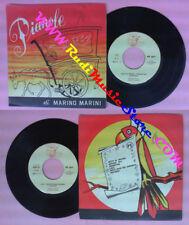 LP 45 7'' MARINO MARINI Notti di spagna Riflessi blu Lola PIANOLE no cd mc vhs
