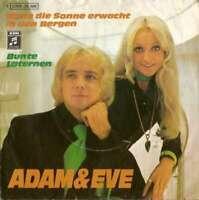"""Adam & Eve - Wenn Die Sonne Erwacht In Den Bergen  7"""" Vinyl Schallplatte - 4043"""